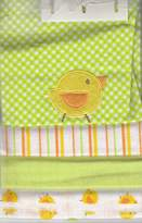 Buster Brown 4 Flannel Blankets (Green Duck)