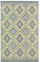 Leon Hand-tufted de Tribal Ivory Rug (3'6 x 5'6)