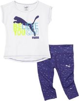 Puma Legging & T-Shirt Set (2T-4T)