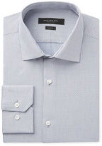 Andrew Marc Men's Slim-Fit Motion-Ease Collar Wrinkle-Free Micro Check Dress Shirt