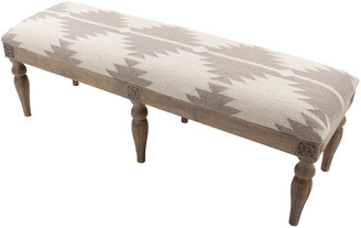 Surya Fabric Bench