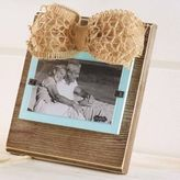 Mud Pie Pine and Sea Foam 3-Inch x 5-Inch Picture Frame