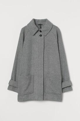 H&M Boxy Twill Coat