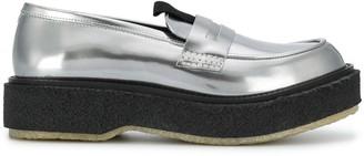Adieu Paris Chunky Flatform Loafers