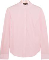 Ariat Triumph Liberty stretch-piqué and cotton-blend poplin show shirt