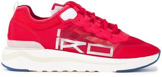 IRO Cliff Printed Mesh Sneakers