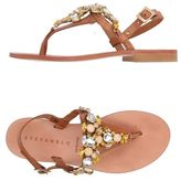 Stefanel Toe post sandal