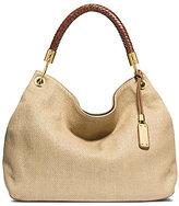 Michael Kors Skorpios Large Woven Shoulder Bag