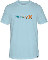Hurley Men's One and Only Soaked Graphic-Print Logo T-Shirt