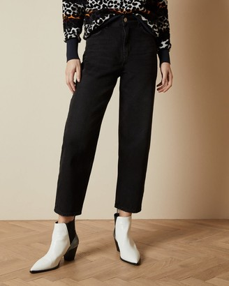 Ted Baker Cotton Straight Leg Jeans