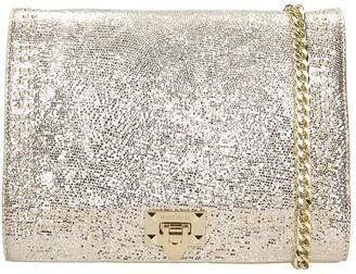 Marc Ellis April L Shoulder Bag In Platinum Leather