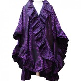 Christian Dior Purple Silk Coat for Women Vintage