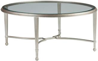 Artistica Sangiovese Round Coffee Table - Argento Silver