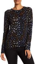 Equipment Sloane Cashmere Print Sweater
