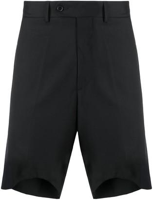 Paura Asymmetric-Hem Tailored Shorts