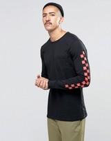 Huf X Chocolate Long Sleeve T-shirt With Sleeve Print