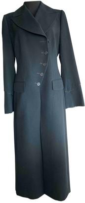 Martine Sitbon Black Wool Coat for Women