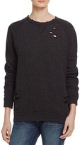 Nation Ltd. Distressed Sweatshirt - 100% Bloomingdale's Exclusive