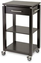 Bed Bath & Beyond Linea Rolling Kitchen Cart with Chrome Accents