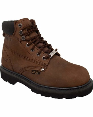 AdTec Ad Tec Men's 6 Inch Steel Toe 1981-M Work Boot