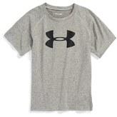 Under Armour Toddler Boy's 'Big Logo' Ua Tech Short Sleeve Graphic T-Shirt
