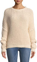 Zimmermann Sunny Braid Cable-Knit Sweater