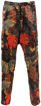 Dries Van Noten Polman Multicolored Drawstring Pants