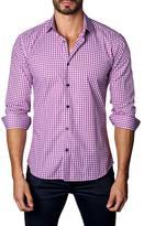Jared Lang Button-Down Plaid Sportshirt