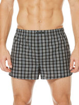 Perry Ellis 3 Pack Plaid Woven Boxers