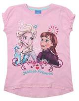 Disney Girl's Frozen-Forever-Kids T-Pink Track Jackets,(Manufacturer Size:XXXX-Small)