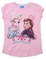 Disney Girl's Frozen-Forever-Kids T-Pink Track Jackets