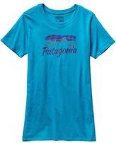 Patagonia Women's Morning Glow Cotton/Poly Crew T-Shirt