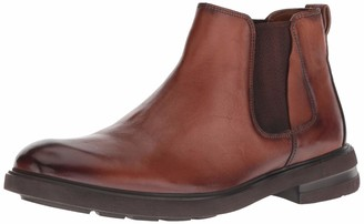 Kenneth Cole New York Men's Tunnel Chelsea Boot Cognac 9 M US