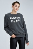 Spiritual Gangster Namaste All Day Old School Pullover