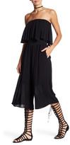 Dex Strapless Popover Culotte Jumpsuit