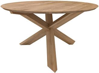 "Ethnicraft Circle Dining Table - Oak 64""Dia"