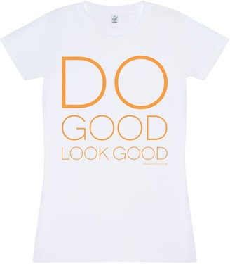 Bo Carter Do Good Look Good T-Shirt- White