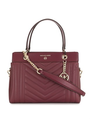 MICHAEL Michael Kors Susan quilted leather crossbody bag