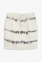 Thumbnail for your product : Monki Mini denim skirt