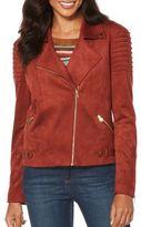 Rafaella Faux Suede Moto Jacket