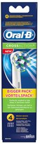 Oral-B Oral B Cross Action Toothbrush Head Refills (x4)