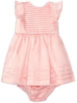 Ralph Lauren Infant Girls' Silk Organza Pleated Dress & Bloomer Set - Baby
