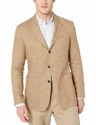 Billy Reid Men's Standard Fit Three Button Single Breasted Sportcoat