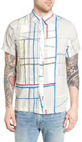 NATIVE YOUTH Men's Spectrum Woven Shirt