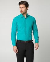 Le Château Textured Cotton Slim Fit Shirt