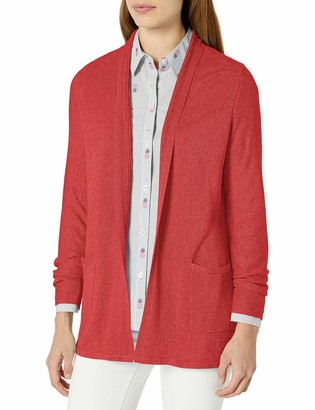 Foxcroft Women's LS V-Neck Cardigan with Two Pockets
