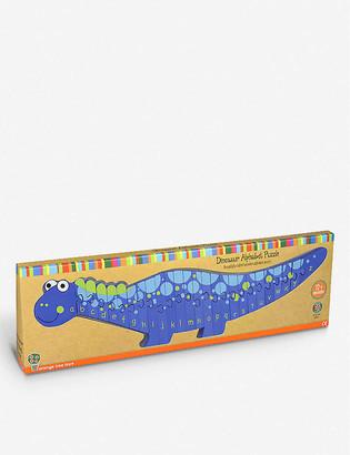 Orange Tree Toys Alphabet Dinosaur wooden puzzle