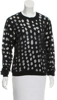 Acne Studios Ninah Dots Long Sleeve Sweater