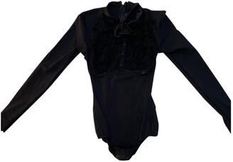 Agent Provocateur Black Cotton Tops