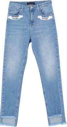Frankie Morello Denim pants - Item 42775832US